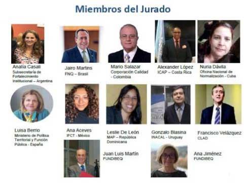Miembros del jurado
